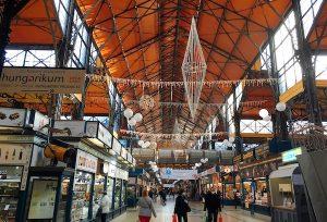 ハンガリー・ブダペスト中央市場
