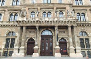 ブダペストの美しいドア