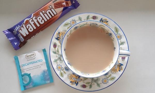 夜でも安心して飲めるロンネフェルトのティーべロップ「デカフェ紅茶」