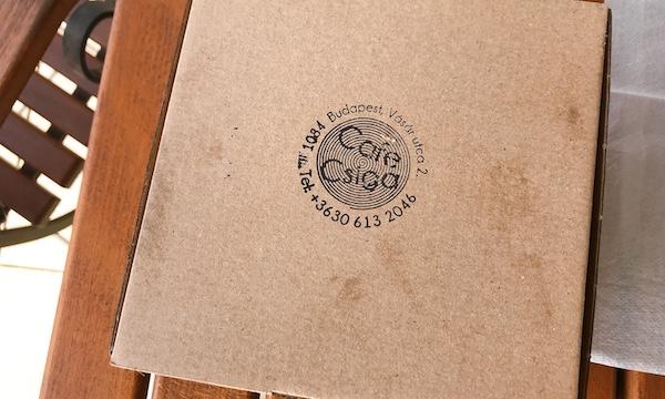 ボリューミーでおいしいバーガーが味わえるカフェ「Café Csiga」@ブダペスト ・ハンガリー