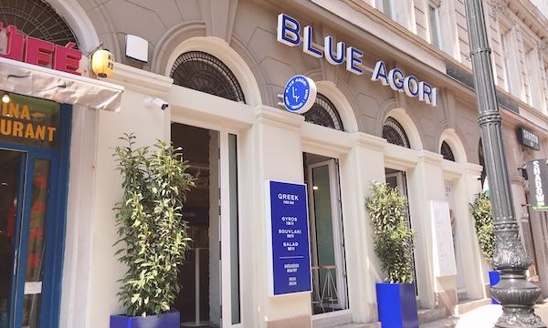 ギリシャ料理屋さん「Blue Agori」のギロスが食べ歩きにぴったり