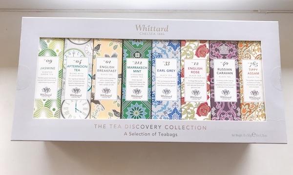 イギリスからウィタード(Whittard)の紅茶を買ってみました!