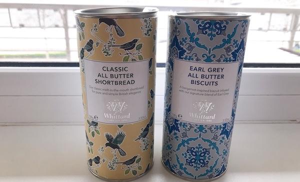 イギリスからウィッタード(Whittard)の紅茶を買ってみました!