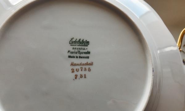 ブダペストで購入したお気に入りのアンティーク食器をご紹介