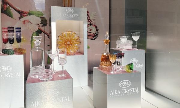 ハンガリーのおすすめお土産物ブランド〜その1「Ajka Crystal(アイカ・クリスタル)」〜