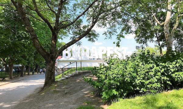 初夏のマルギット島はバラが見頃@ハンガリー・ブダペスト