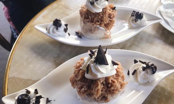 ハンガリーの栗のデザート「Gesztenyepüré(ゲステニェピュレー)」を食べに
