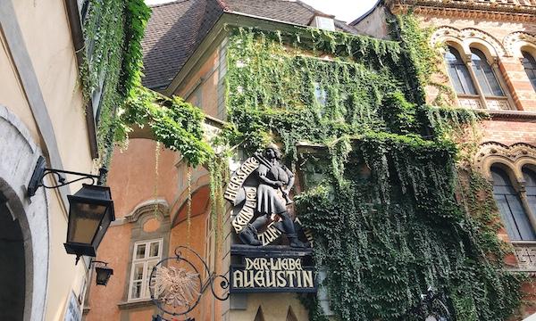 ブダペストからウィーンへ週末旅行その3〜「Griechenbeisl」でランチ〜