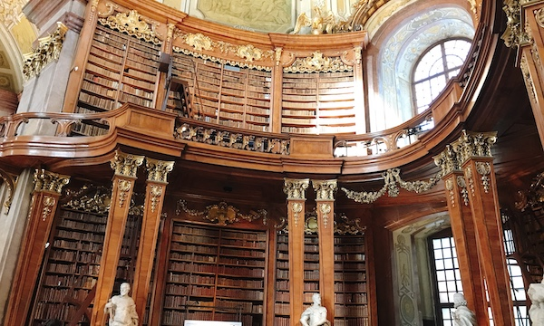 ブダペストからウィーンへ週末旅行その5〜世界一美しい図書館へ〜