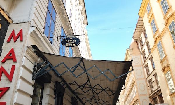 ブダペストからウィーンへ週末旅行その8〜日本でも人気のカフェDemelへ〜