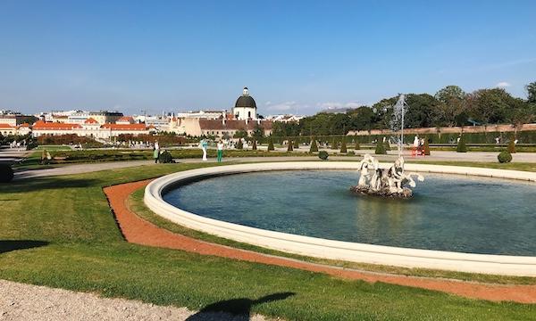ブダペストからウィーンへ週末旅行その9〜最後にベルヴェデーレ宮殿へ〜